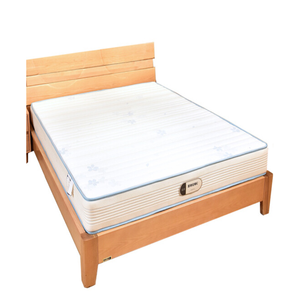 Teak wood double bed design student dormitory foam mattress standard pillow top spring and base cheap hospital bed