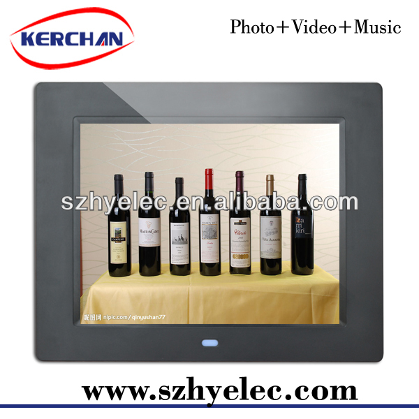 wedding digital photo frame,photo frame with digital voice recorder