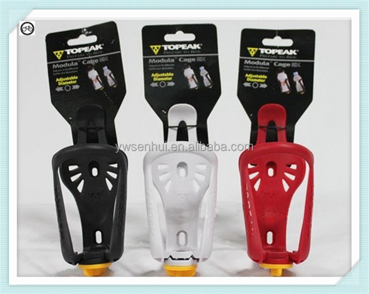 The new adjustable multiple color bike bottle cage