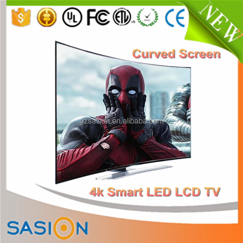 50 inch full hd lcd smart curved 4k 3d wholesale price led tv