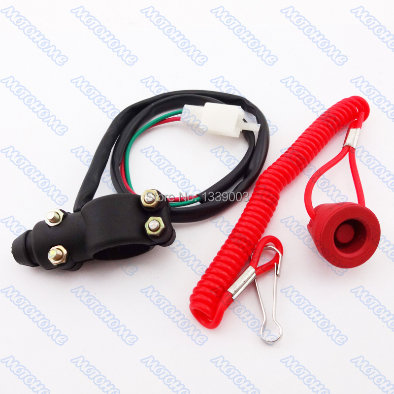 cheap chinese atv kill switch chinese atv kill switch deals get quotations · tether line safety kill switch for pocket bike mini dirt bike atv quad motorcycles