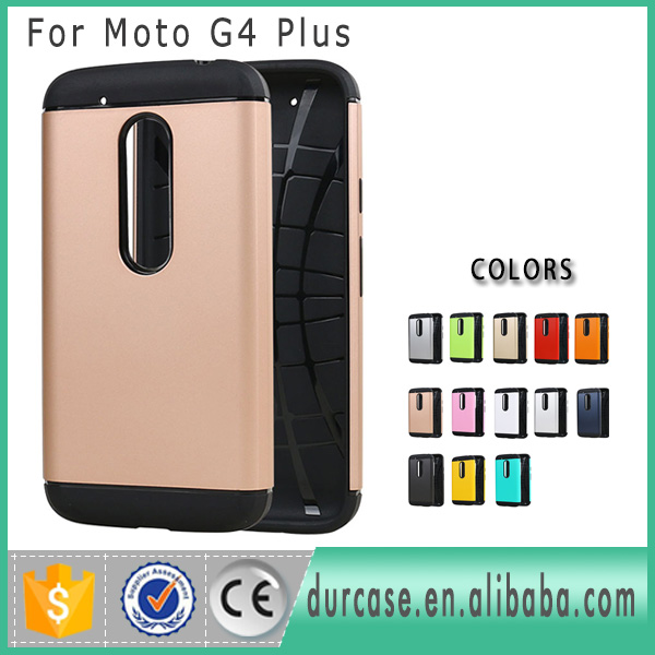 Durcase MOQ 10PCS Many Models In Stock 5Days Wholesale Cheap Price Dual Layer Slim Armor Case For MOTO G4 PLUS Cover Case