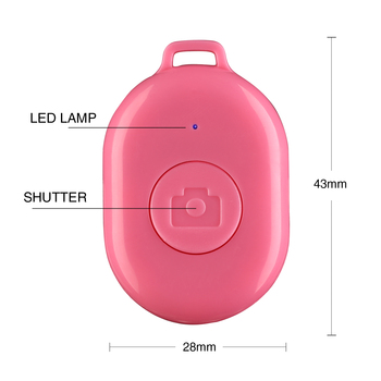 one key remote shutter release button 3 mini camera self-timer wireless bluetooth remote shutter for iPhone/Samsung/iPad