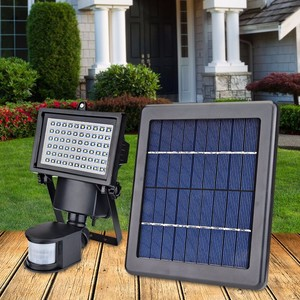 Hooree SL-60 solar energy outdoor lighting led motion sensor light dim strong