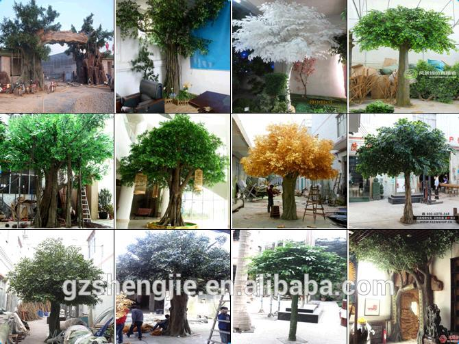 lxy080831 plastic artificial ficus trees ornamental foliage plants fake banyan tree plastic tree - Ficus Trees