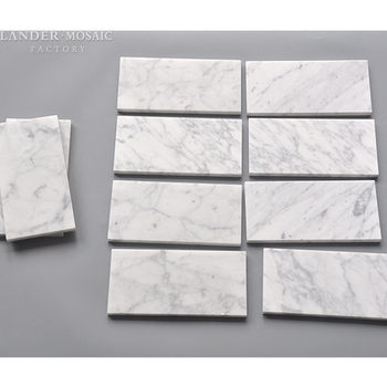 Bianco Carrara White Honed Thin Natural