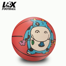 High Quality size 3 rubber basketball mini basket ball