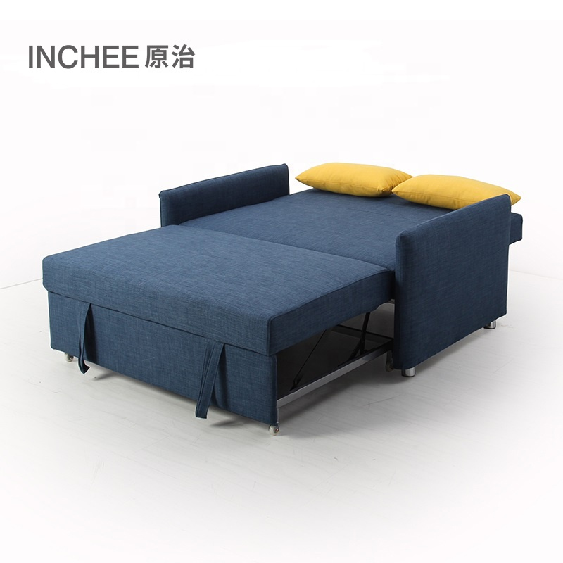 Opbergkast Tuinkussens Loungeset.Foldable Convertible Pull Out Single Cum Cama Sofa Bed