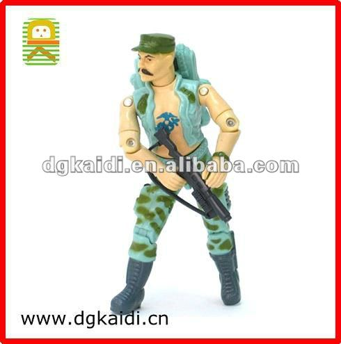 WWII Military Toy / Plastic Soldier Toy / Action Soldier Figure