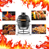 Home Garden Kamado Egg Style German BBQ Grill