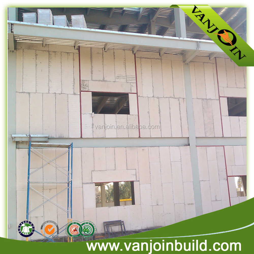 Lightweight Precast Industry Reinforced Concrete Wall