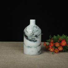 Chinese wholesale porcelain ceramic antique garden vase flower home goods decorative vase