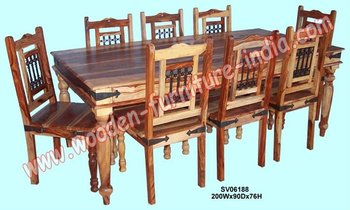 Magnificent Dining Set Indian Wooden Furniture Home Furniture Table Chair Buy Modern Dining Sets Furniture Mango Wood Dining Room Table And Chairs Solid Wood Pdpeps Interior Chair Design Pdpepsorg