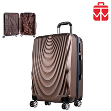newest 2017 cell phone accessories 3 pieces set eminent trolley verage suitcase with wheel luggage