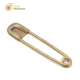 China factory supplier vintage 122mm laundry giant safety pin metal antique brass big safety pin