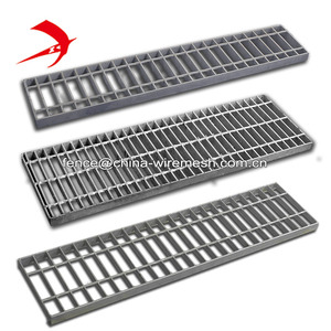 Drainage steel grates fabricated steel grating trench drain cover