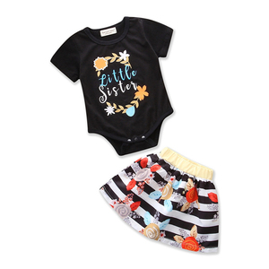 INS15 Newborn Baby Christmas T-Shirt Tops Romper Tutu dress Outfits Clothes Romper set For Baby Kids Girls
