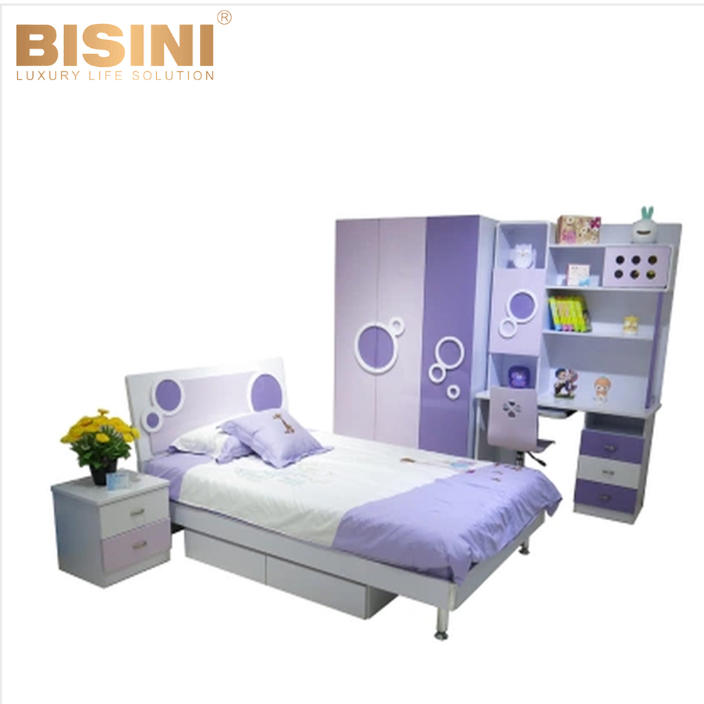 Bisini Boys Computer Desk Kid S Wooden Bedroom Furniture Bisini