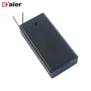 Double Battery Holder AAA With Cover And Switch