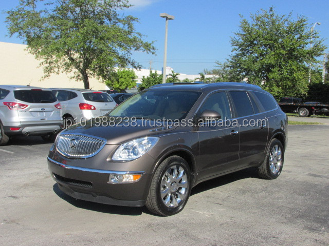 USED CARS - BUICK ENCLAVE 2CXL - FLOOD (LHD 819412)