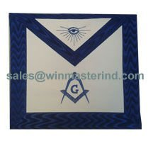 blue lodge master apron