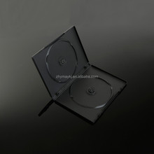 Wholesale Plastic Blu Ray Disc Storage Use 14mm black CD DVD Case