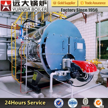 New Gas Oil Lpg Fired Steam Boiler For Steam Distillation Hotel Laundry Feed Mill Milk Pasteurization Tea Factory Sale