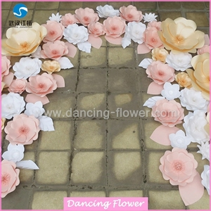 Custom House Decor Many Style Decorative Wedding Origami Paper Flower