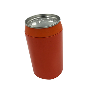 Bespoke Dongguan Factory Empty Round Tin Can Compressed T-shirt