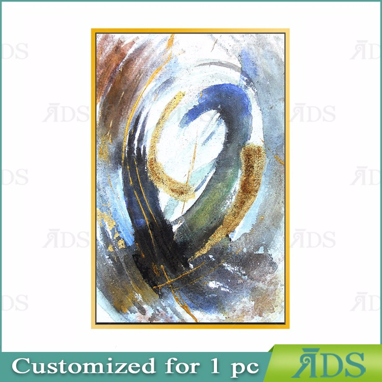 High Quality Home Decoration Handmade Abstract Oil Painting Picture