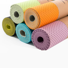 Durable Double Side 6mm thickness TPE Yoga Mat 6mm yoga mat with sinlge color