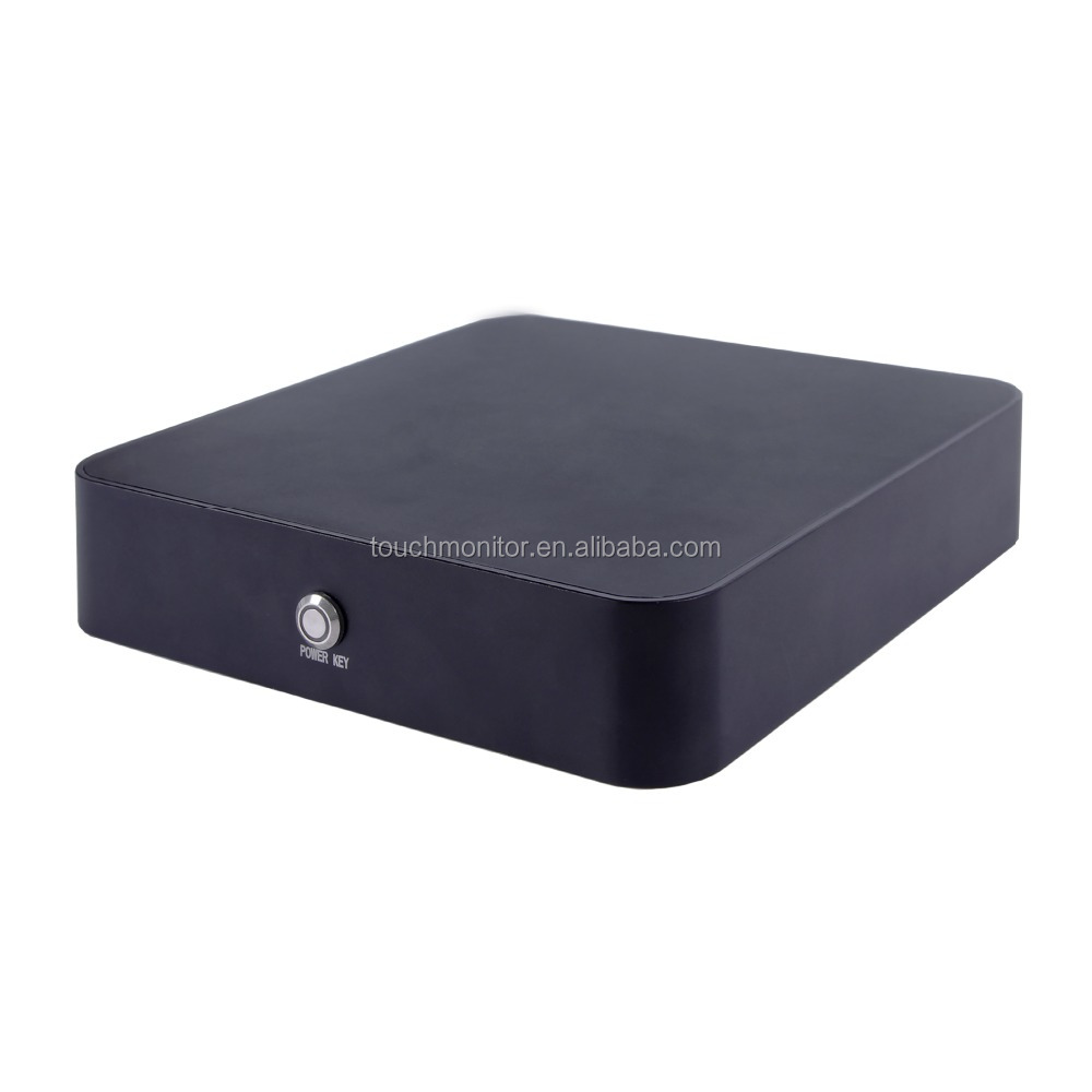 RS232 interface Fanless Embedded Industrial Computer Dual -Core Rugged Mini PC