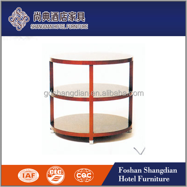 Modern fancy 3 layers rose gold metal legs stone coffee table