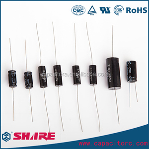 Circular Wire Lead MPT Axial Polypropylene Film Capacitor CBB20