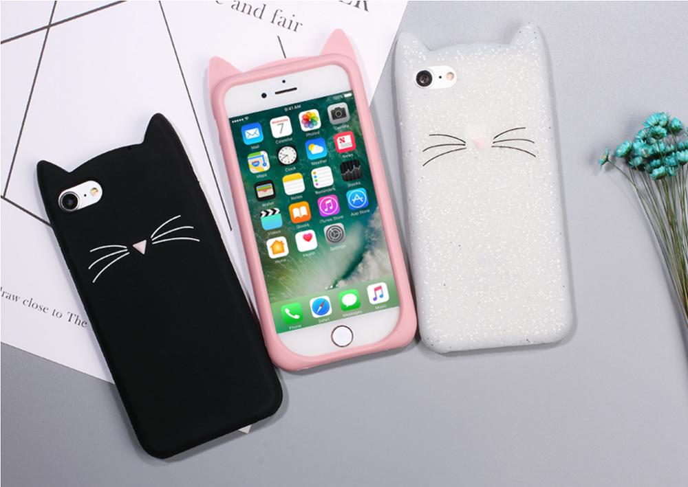 Phone Protection Cases Kawaii Funda Funda iphone Galaxy S7 Hard