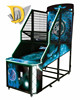 Hot selling coin operated street basketball shooting game machine for children
