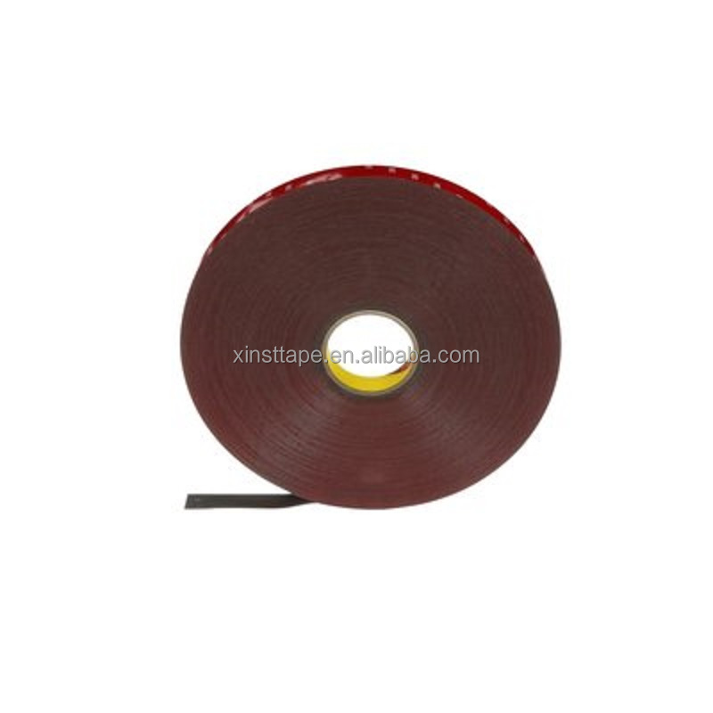 3M 4218P Red Printed Liner Acrylic Foam Tape For Luggage Rack Slats And Lightweight Rear Spoilers