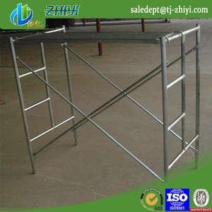 1219*1700 mm H frame scaffolding and walk through scaffolding frames