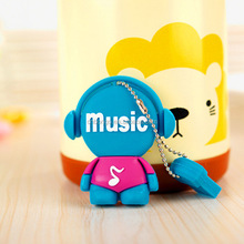 Promotion gift The new music man design usb flash drive 32MB to 128GB