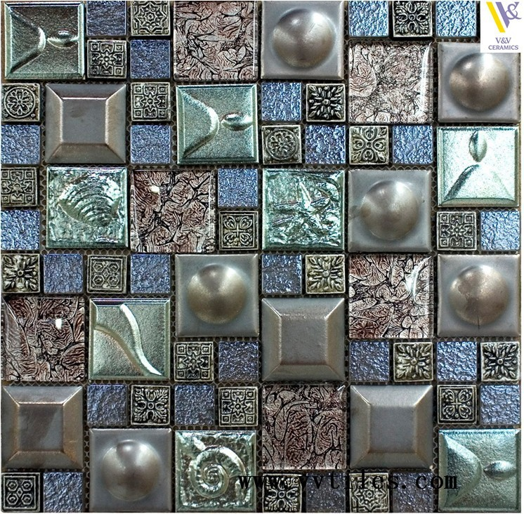 Luxury Glass Mosaic Hotel Home Kitchen Decorative Wall Tiles Buy Crystal Glass Mosaic Bathroom Tiles Glass Mosaics Mosaic Tile Decorative Wall Tile