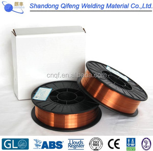 ER70S-6 Copper Coated CO2 Gas Shielded Welding Wire AWS5.18 ER70S-6 (0.8mm 1.0mm 1.2mm)