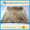 soft customized size colorful plain 6cm-9cm long hair elegant floor shaggy rugs