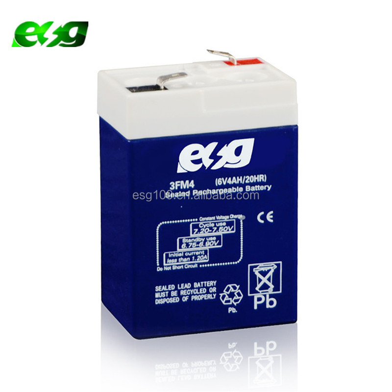 6V4ah Security battery