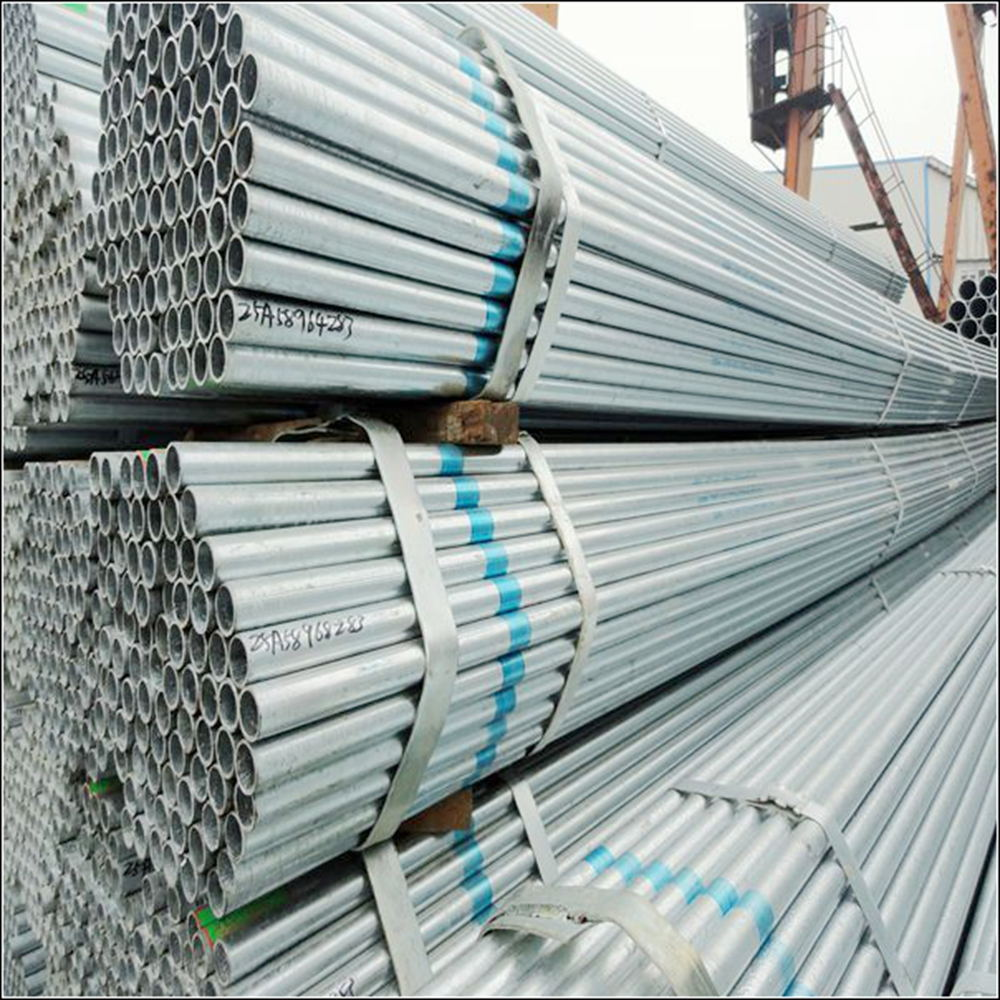 Custom top quality electro galvanized steel pipes