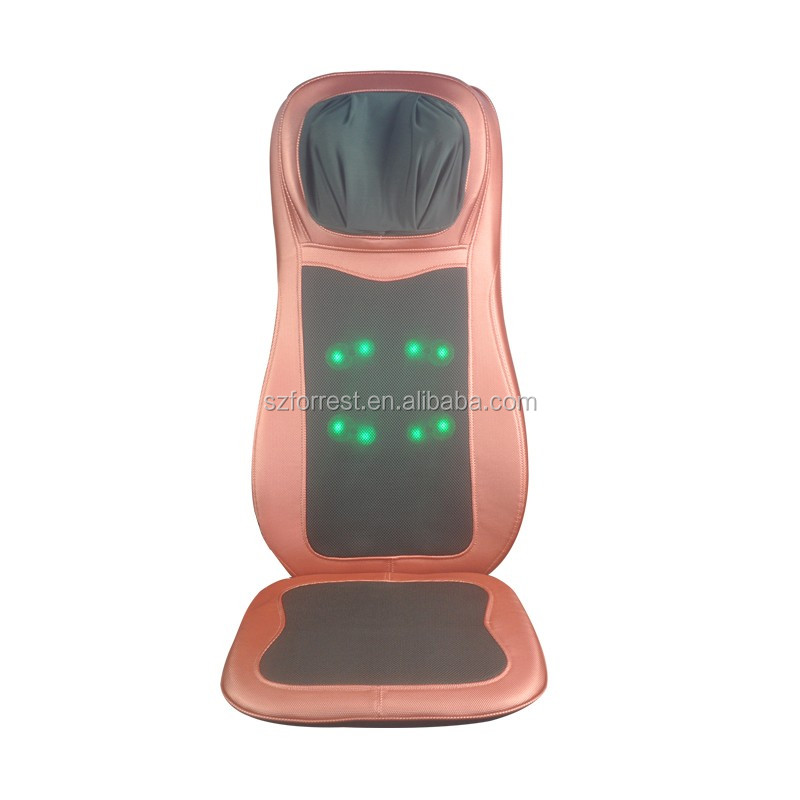 China Best seat scraper shiatsu lumbar infrared massager