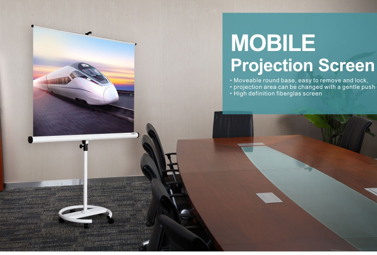 Big PVC Fabric Fast Fold screenMobile Projection Screen