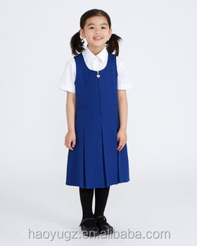 4828b4441 Wholesale school uniform dress manufacturers girls sexy pinafore made in  china