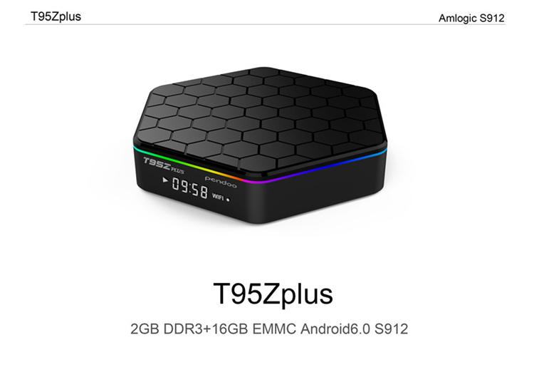 Hot S912 tv box T95Z plus 2G/3GB Ram Android6.0 Android7.0 TV BOX
