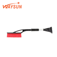 2019 Discount High Quality Aluminum Tube With Multifunctional Tool For 2-in-1 Snow Brush Winter Scraper Car Wash Cleaning Cloth