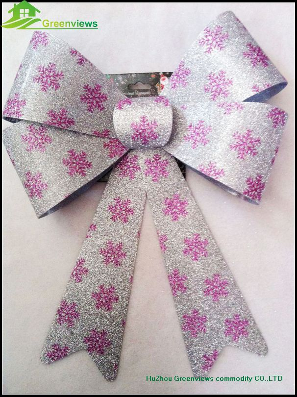Door Bow Decoration Image Is Loading Luxury Christmas Bright Pink